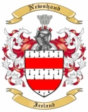 Newshand Family Crest from Ireland