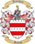 Newshent Family Crest from Ireland