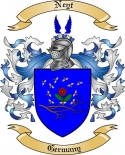 Neyt Family Crest from Germany