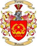 Nguyen Family Crest from Vietnam