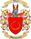 Nhaf Family Crest from Switzerland