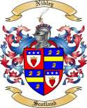 Nibley Family Crest from Scotland