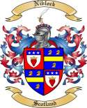 Niblock Family Coat of Arms from Scotland