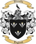 Niccolls Family Crest from England2