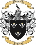 Nichoalds Family Crest from England2