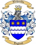 Nichoalds Family Crest from England
