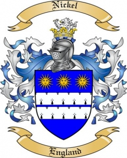 Nickel Family Coat of Arms from England