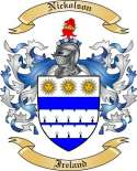 Nickolson Family Coat of Arms from Ireland