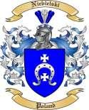 Niebielski Family Crest from Poland