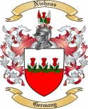 Niehaus Family Coat of Arms from Germany