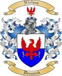 Nielsen Family Coat of Arms from Denmark