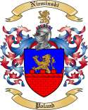 Nieminski Family Coat of Arms from Poland