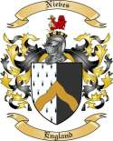 Nieves Family Crest from England