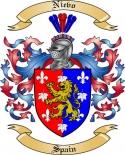 Nievo Family Crest from Spain