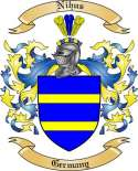 Nihus Family Crest from Germany2