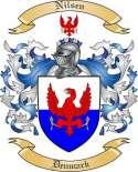 Nilsen Family Crest from Denmark