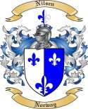 Nilsen Family Crest from Norway