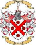 Nippers Family Crest from Scotland