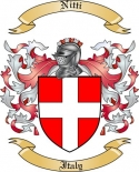 Nitti Family Coat of Arms from Italy