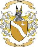 Nitz Family Crest from Germany