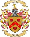 Nix Family Coat of Arms from England