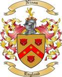 Nixon Family Coat of Arms from England