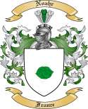 Noahr Family Coat of Arms from France