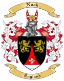 Noak Family Crest from England