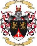 Noakes Family Crest from England