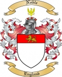 Noble Family Crest from England