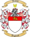 Noblit Family Crest from England