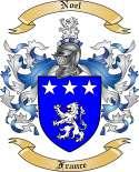 Noel Family Crest from France2