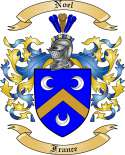 Noel Family Coat of Arms from France