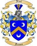 Noel Family Crest from France