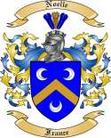 Noelle Family Coat of Arms from France