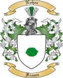 Nohar Family Coat of Arms from France