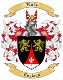 Noke Family Crest from England