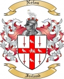 Nolon Family Crest from Ireland