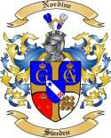 Nordine Family Coat of Arms from Sweden