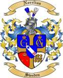 Norelius Family Crest from Sweden