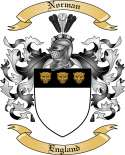 Norman Family Crest from England