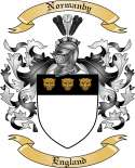 Normanby Family Coat of Arms from England
