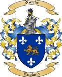 Northe Family Crest from England
