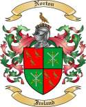 Norton Family Crest from Ireland