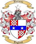 Norurse Family Coat of Arms from England