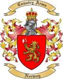 Norway Family Coat of Arms from Norway