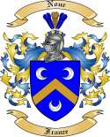 Noue Family Crest from France