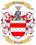 Nougent Family Crest from Ireland