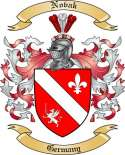 Novak Family Crest from Germany