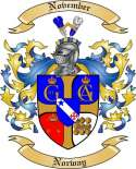November Family Coat of Arms from Norway